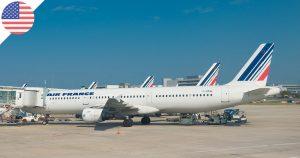 Air France : Vols directs Paris CDG / Dallas (USA)