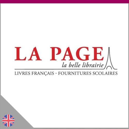 Logo de la librairie La Page