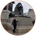 Mélanie COUILLARD à Londres